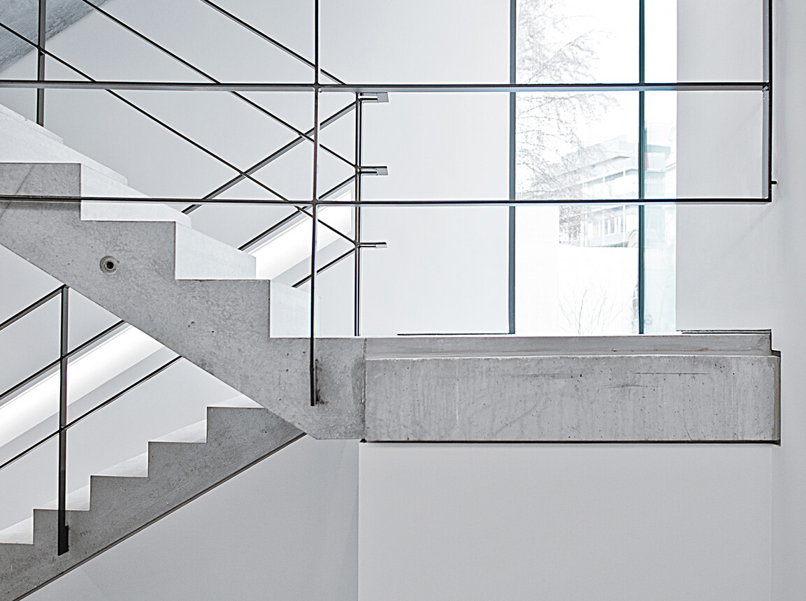 Office building - new construction - according to DGNB Platinum certification - stairs