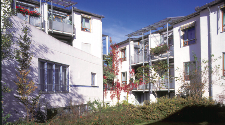 nursing home for the elderly - new construction and expansion - Nursing Home Laichingen - overview outside