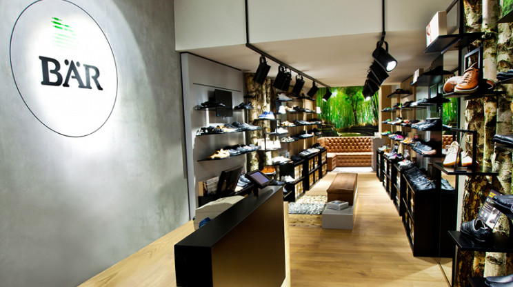 store design - shoes store - Bär Cologne - shop overview