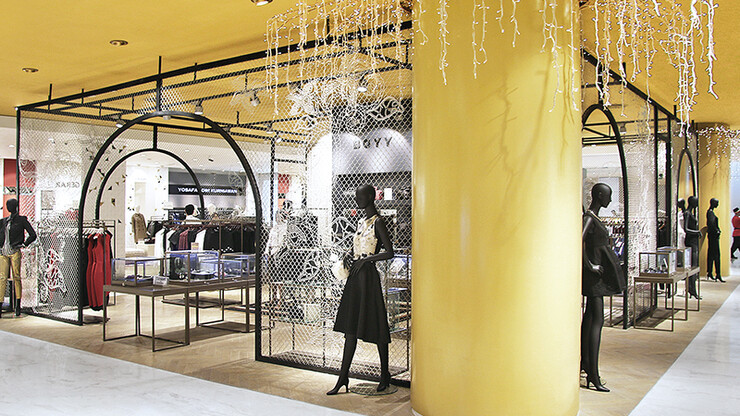 Department store - new conception and realisation - Central Grand Indonesia - clothing