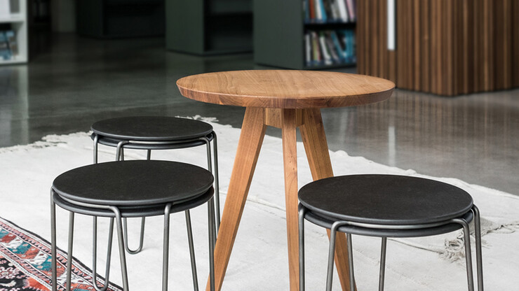 Stool - Bender - designed by blocher partners