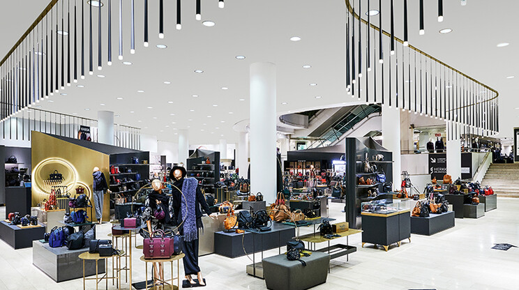 department store - master plan - conception - stockmann helsinki - accessory  floor - overview