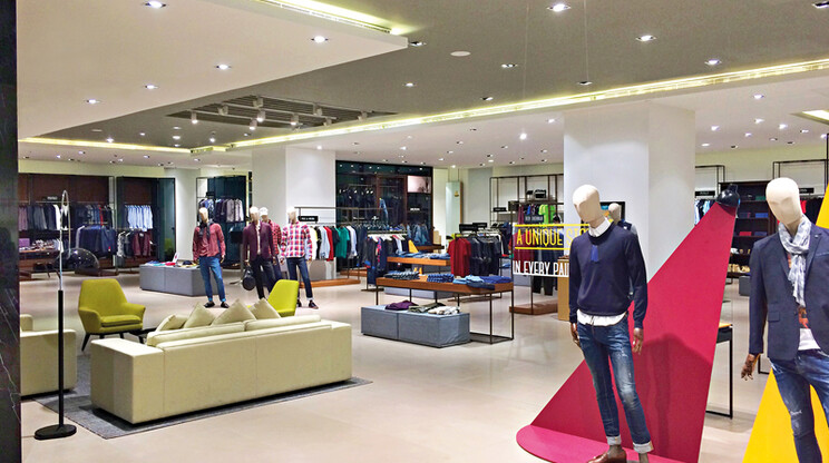 Department store - new store design - The Collective Bangalore - zoning and focus - coloring