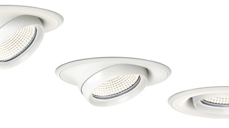 build-in LED spotlight - vecto - vectolino - cutout object - 3 positions